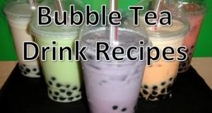 Bubble-Tea-Drink-Recipes-MangoCoconutTaroPapayaWatermelon