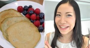 Easy-Recipe-for-Japanese-Pancake-Matcha-Green-Tea-Pancake