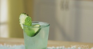 How-to-Make-a-Cucumber-Gin-Fizz-Drink
