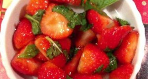 Make-a-Healthy-Strawberry-Mint-Dessert-Food-Drinks-Guidecentral