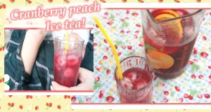Spring-to-Summer-drinks-Cranberry-peach-ice-tea