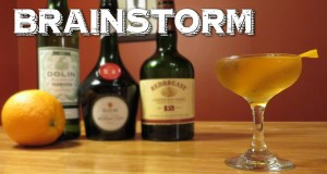 Brainstorm – a Vintage Cocktail with Irish Whiskey, Benedictine & Dry Vermouth