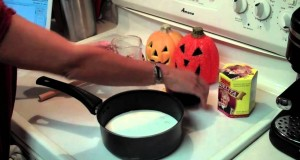 "Chocolate Milk– the ""Official Drink of Halloween"""