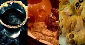 Halloween Party Recipes: Mummy Hot Dogs, Pumpkin Dip & Drink of Despair