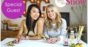 How To Make Healthy New Year's Eve Drinks | Holiday Recipes | The Healthy Grocery Girl® Show