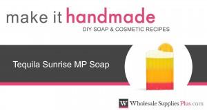 How to Make Tequila Sunrise MP Soap Make It Handmade