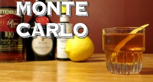 Monte Carlo – a Vintage Cocktail with Rye Whiskey & Benedictine (Similar to a Manhattan)
