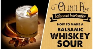 Olimila's Balsamic Bartender :: Whiskey Sour – How to Mix