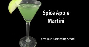 Spiced Apple Martini Cocktail Drink Recipe